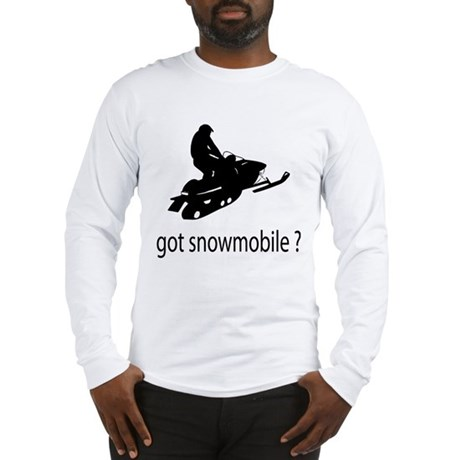 got snowmobile? Long Sleeve T-Shirt