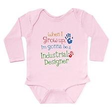 Kids Future Industrial Designer Long Sleeve Infant