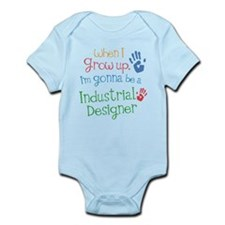 Kids Future Industrial Designer Infant Bodysuit