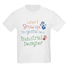 Kids Future Industrial Designer T-Shirt