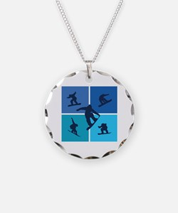Nice various snowboarding Necklace