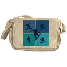 Nice various snowboarding Messenger Bag