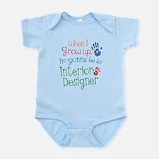 Kids Future Interior Designer Infant Bodysuit