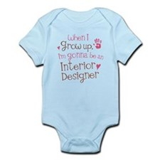 Kids Future Interior Designer Infant Bodysuit
