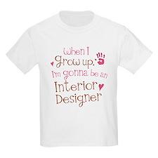 Kids Future Interior Designer T-Shirt