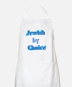 Jewish by choice BBQ Apron