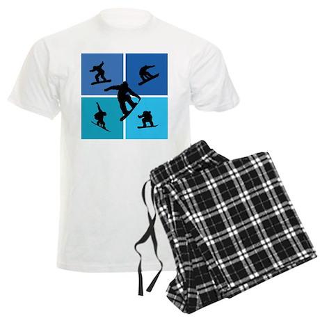 Nice various snowboarding Men's Light Pajamas