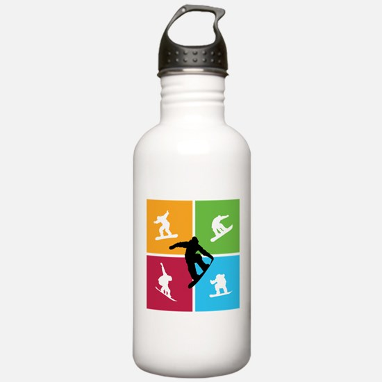 Nice various snowboarding Water Bottle