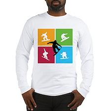 Nice various snowboarding Long Sleeve T-Shirt
