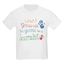 Kids Future Journalist T-Shirt