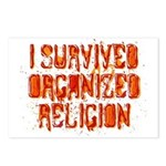 I Survived Organized Religion Postcards (Package o