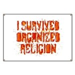 I Survived Organized Religion Banner