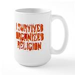 I Survived Organized Religion Large Mug