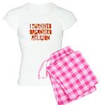 I Survived Organized Religion Women's Light Pajama