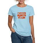 I Survived Organized Religion Women's Light T-Shir
