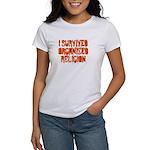 I Survived Organized Religion Women's T-Shirt