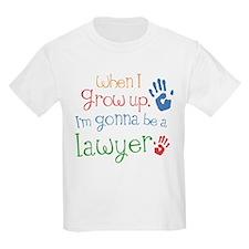 Kids Future Lawyer T-Shirt