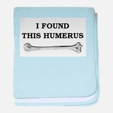 i found this humerus baby blanket