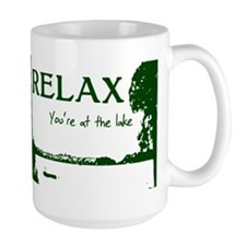 Relax You're At The Lake Mug