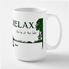 Relax You're At The Lake Mug