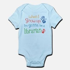 Kids Future Librarian Infant Bodysuit