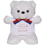 Kids Future Librarian Teddy Bear