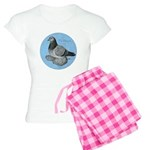 Frillback Pigeon Grizzle Women's Light Pajamas