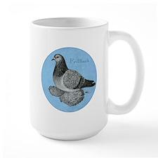 Frillback Pigeon Grizzle Mug
