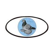 Frillback Pigeon Grizzle Patches