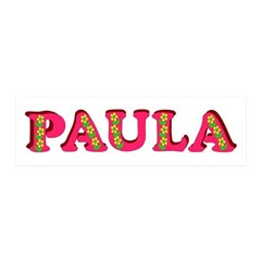 Paula 21x7 Wall Peel