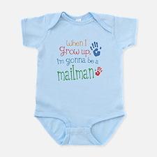 Kids Future Mailman Infant Bodysuit