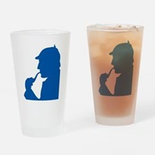$14.99 Greatest Sleuth of All Drinking Glass