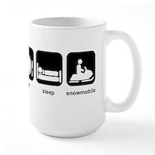 Eat Sleep Snowmobile Mug