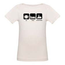 Eat Sleep Snowmobile Tee