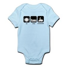 Eat Sleep Snowmobile Infant Bodysuit