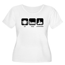 Eat Sleep Snowmobile T-Shirt