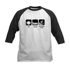 Eat Sleep Mountain Bike Tee