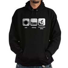 Eat Sleep Mountain Bike Hoodie