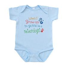 Kids Future Meteorologist Infant Bodysuit