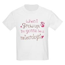 Kids Future Meteorologist T-Shirt
