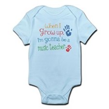 Kids Future Music Teacher Infant Bodysuit