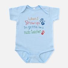 Kids Future Music Teacher Infant Bodysuit