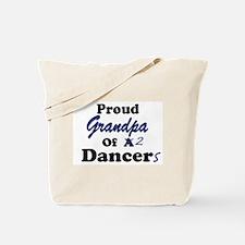 Grandpa of 2 Dancers Tote Bag