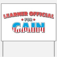 Learner Official for Cain Yard Sign