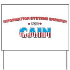 Information systems engineer Yard Sign