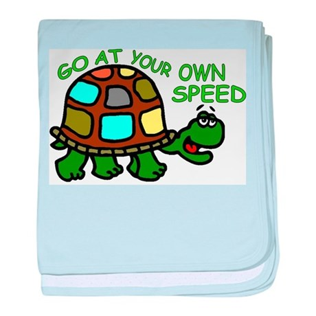 Your Own Speed baby blanket