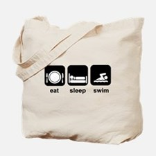 Eat Sleep Swim Tote Bag