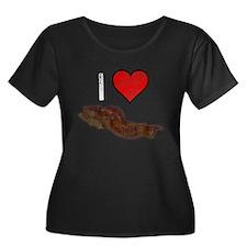 Worn, I Love Bacon T
