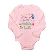 Kids Future Occupational Therapist Long Sleeve Inf