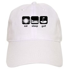 Eat Sleep Golf Cap